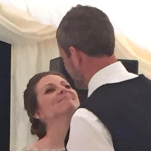 Kerry Pay married at Marleybrook House